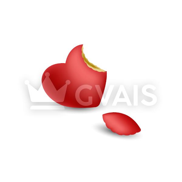 Apple heart 600